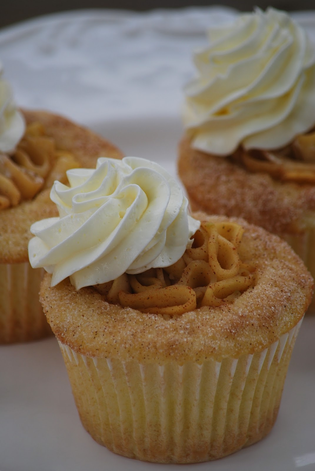 My Story In Recipes Apple Pie Cupcakes