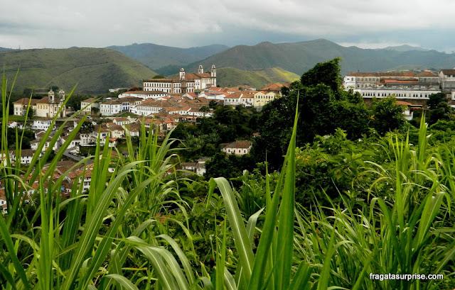 Ouro Preto vista da estrada