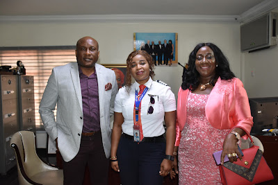 Hurray As First Female Pilot Of Air Peace Gets Elevated