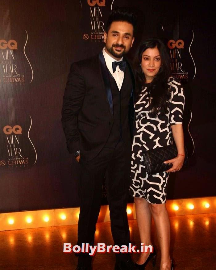 Vir Das, Red Carpet Pics of GQ Men Of The Year Awards 2014