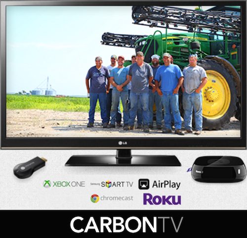 carbonTV free alternative to the outdoor channel