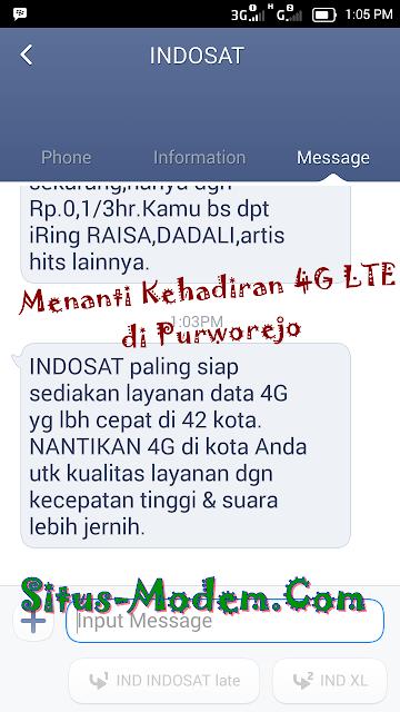Indosat 4G LTE Siap Hadir di 42 Kota Besar, Termasuk Purworejo