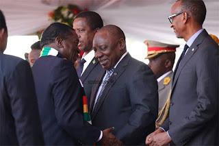 Botswana, Zimbabwe Diplomatic Ties