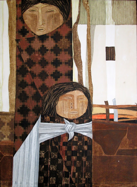 Gil Imaná pintura boliviana tradicional