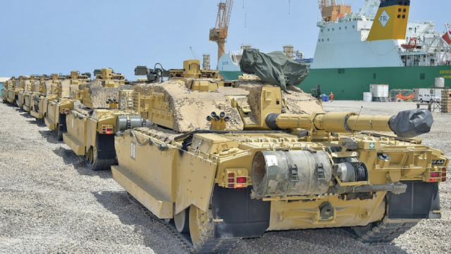 British Armed Forces arrived in Duqm for Swift Sword 3