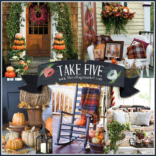 Five Fabulous Fall Porches