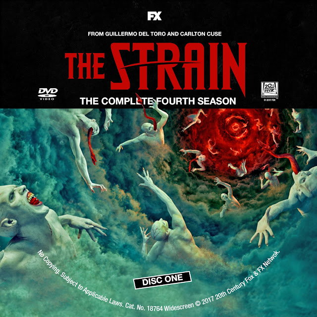 The Strain Season 4 Disc 1 DVD Label