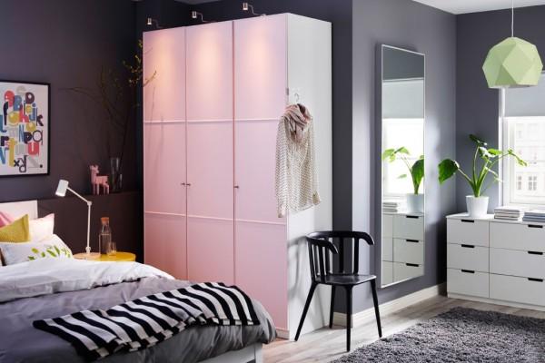 Desain Kamar Tidur Bersama IKEA