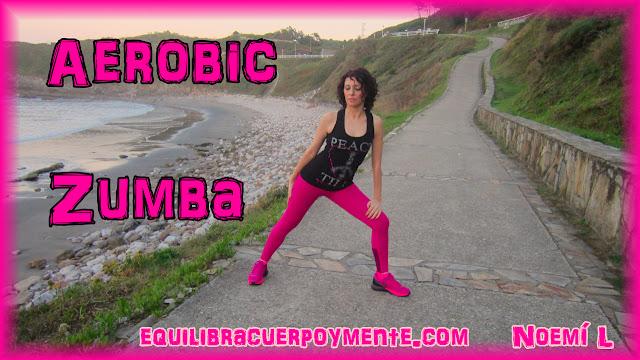Zumba para bajar de peso. Aerobic para adelgazar bailando.