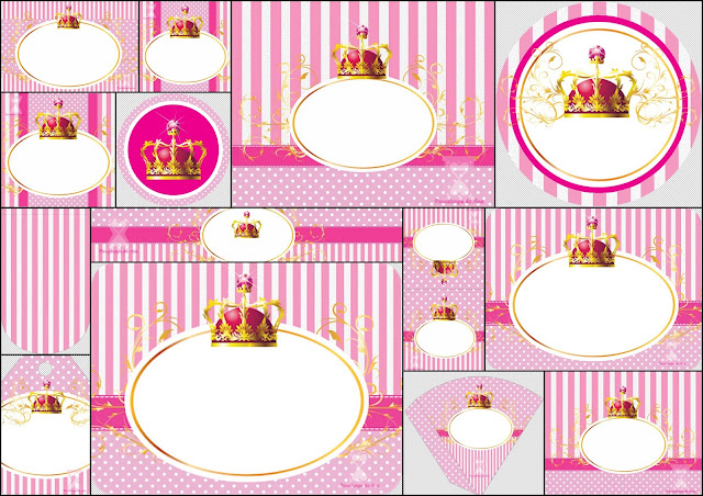 Princess or Queen: Free Printable Party Kit.