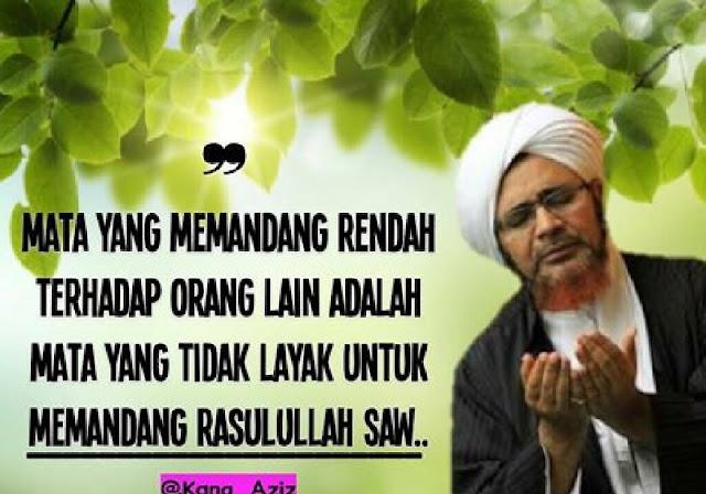 Habib Umar bin Hafidz: Menghina Orang Lain tak Layak Memandang Rasulullah