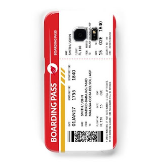 Boarding Pass Samsung Galaxy case