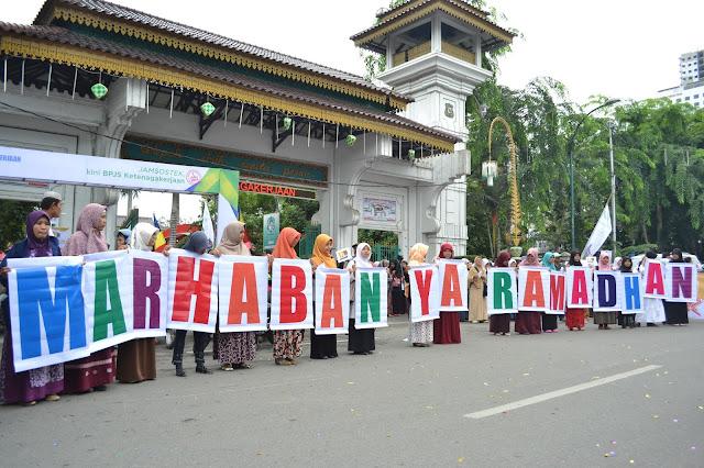 Sambut Ramadhan, Ribuan Kader dan Simpatisan PKS Kota Medan Gelar Pawai Akbar