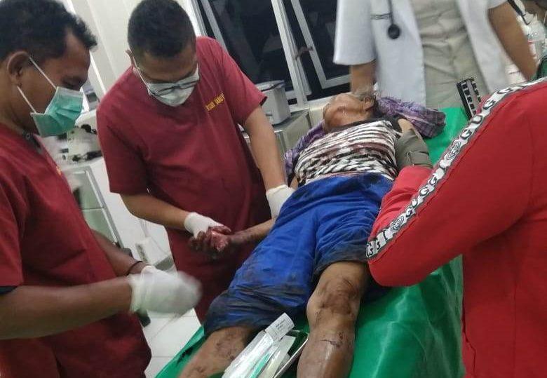 Ronia Pasaribu dirawat medis