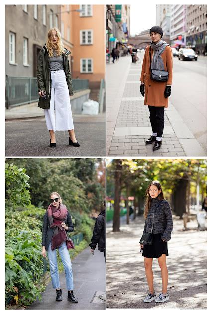 Комплекты из базовых вещей в стиле casual chic