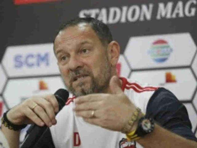 Dejan Antonic Akui Senang Madura United Lawan Borneo FC