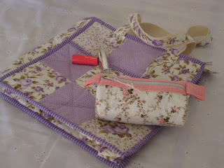 Liliac Purse