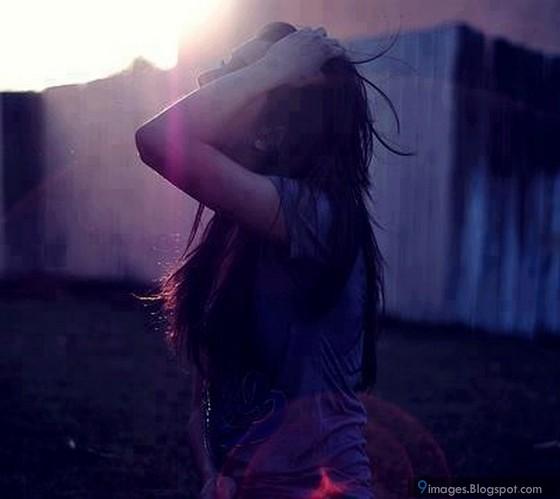Sad, Alone, Crying, Girl, Sunset, Cute, Emotions-1895