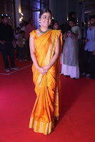 Shalini Pandey in Beautiful Orange Saree Sleeveless Blouse Choli ~  Exclusive Celebrities Galleries 049.JPG
