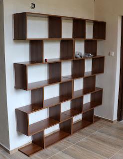 Two bookshelves that I made