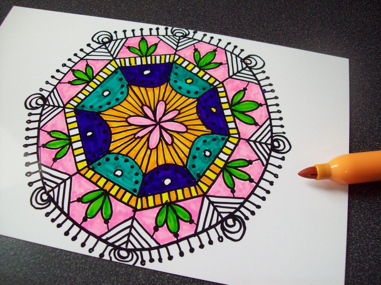 Simple Colorful Sharpie Designs | www.imgkid.com - The ...