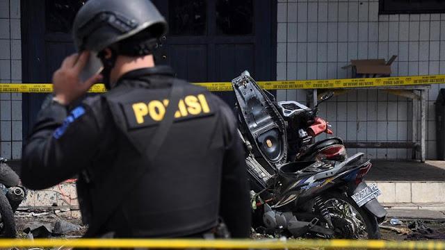 Polisi Tangkap Terduga Otak Dalang Peledakan Bom Gereja Oikumene