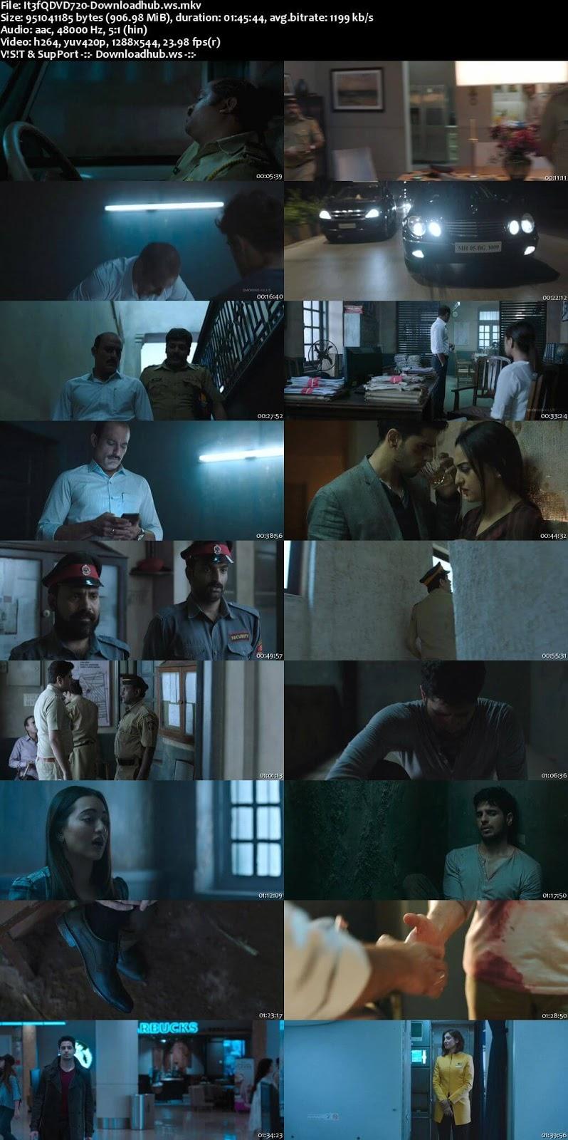 Ittefaq 2017 Hindi 720p DVDRip ESubs