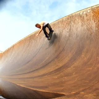 Mark Jansen Skateboarding Adelaide Ramp
