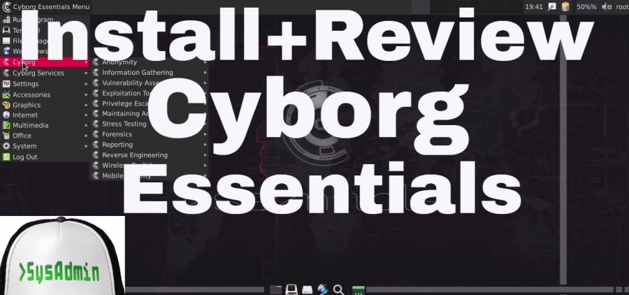 How to Install Cyborg Essentials 1 0 Linux and Review on VMware