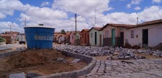 Obras de pavimentação nos bairros Limeira e JK seguem a todo vapor em Picuí
