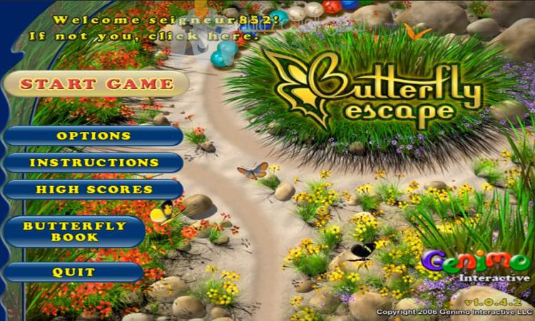 تحميل لعبة زوما الفراشة Butterfly Escape مضغوطة