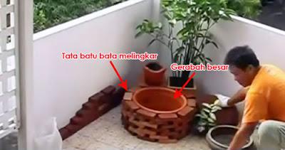 cara membuat taman kecil didepan rumah