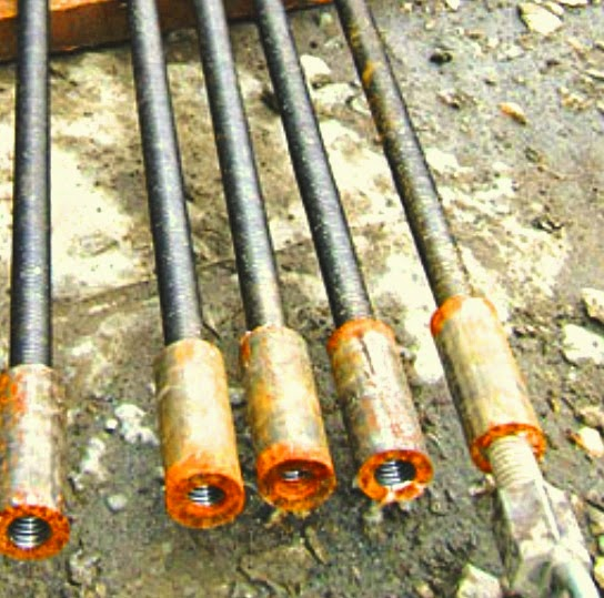 Bar coupler in reinforcement of micropile