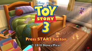 CARA SETTING GAME TOY STORY 3 PPSSPP