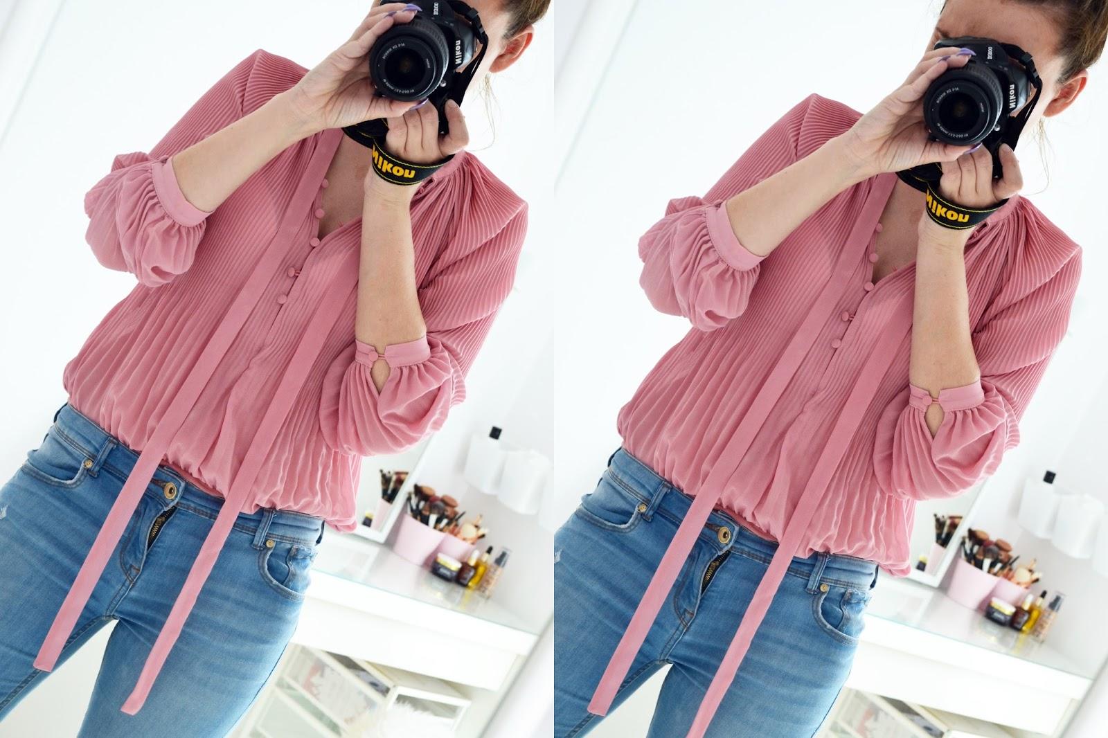 SHEIN - DRESS PURPLE // BODY PINK