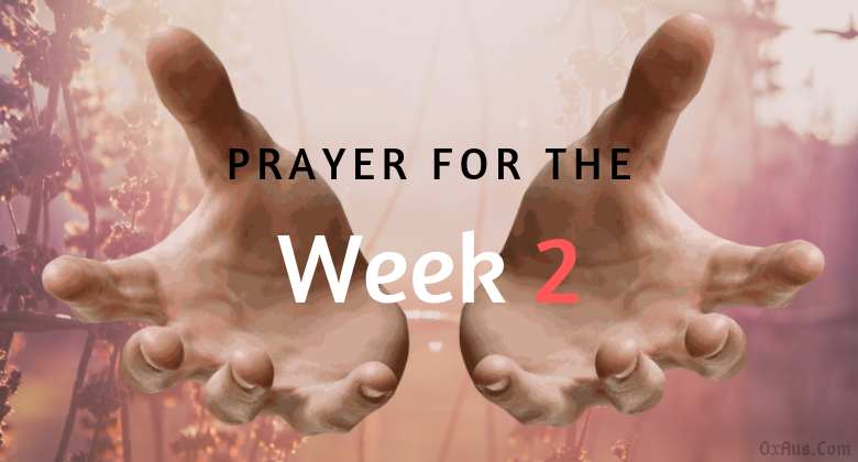 Prayer for the week no 2