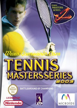 Tennis Masters Series 2003 Game Cover