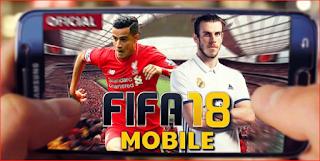 تحميل لعبة FIFA 2018 apk للاندرويد دون انترنت