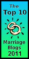 Top 10 Marriage Blogs 2011 logo