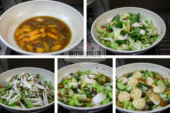 Resep Sapo Tahu dan Jamur