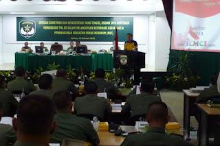 Sofian Tjandra Presentasi di Makodam Jaya