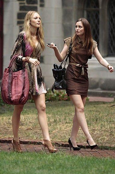 Looks das amigas de Gossip Girl