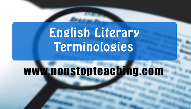 English Literary Terms