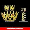 Mahkota Ratu 2 in 1 Untuk Pesta Ulang Tahun Dewasa