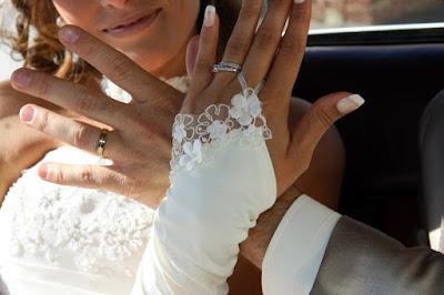 alliance mariage or blanc femme