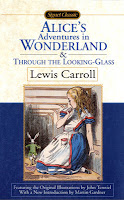 Image of Alice's Adventures in Wonderland on Top Ten Tuesday Childhood Book Characters on Blog of Extra Ink Edits from Writing Consultant and Editor providing editing services for writers, including query critique, synopsis polish,beta reading