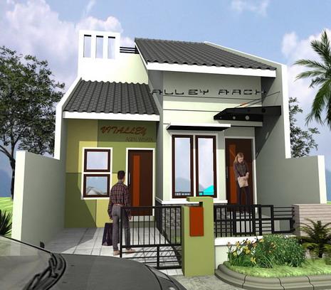 Desain Rumah Idaman 1 Lantai Type 45