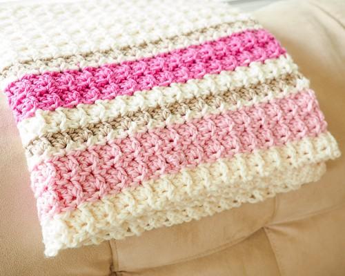 Primrose Baby Blanket - Free Pattern