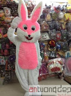 cho thuê mascot thỏ