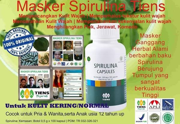 Masker Spirulina Asli (Original)